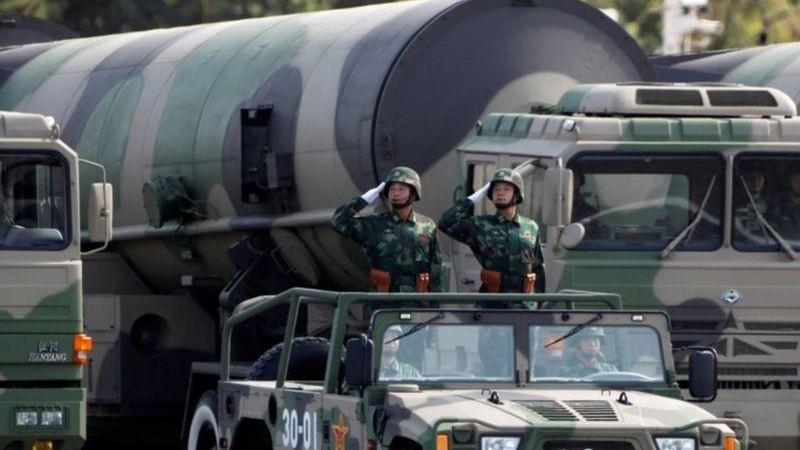Os sinais de que a China está aumentando seu poderio nuclear