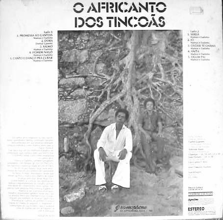O Africanto dos Tincoãs (1975), Os Tincoãs (Foto: Divulgação)