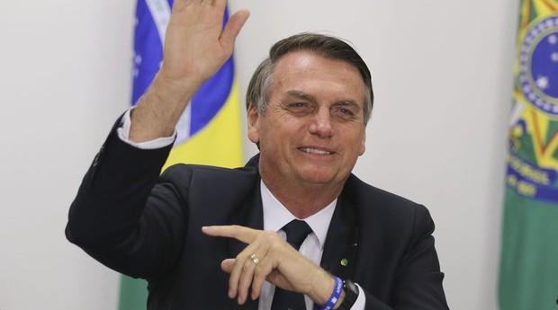 O presidente do Brasil, Jair Bolsonaro (Foto: Agência Brasil)
