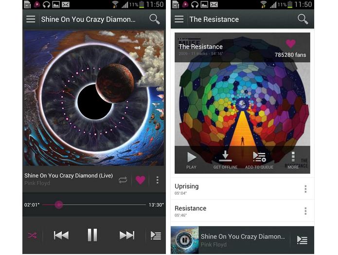 Akazoo é um serviço de streaming de música (Foto: Divulgação)