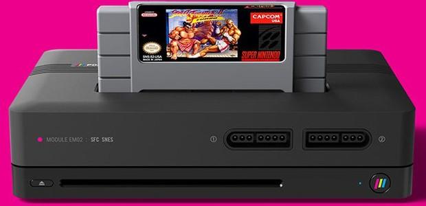 Polymega, o console retrô que roda jogos de vários videogames do passado (Foto: reprodução)