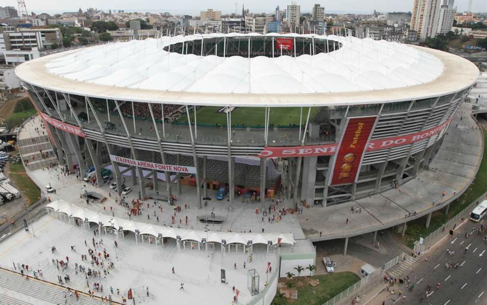 Arena Fonte Nova, em Salvador (Foto: Divulgação )