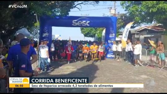 Corrida beneficente atrai centenas de participantes na Ilha de Itaparica