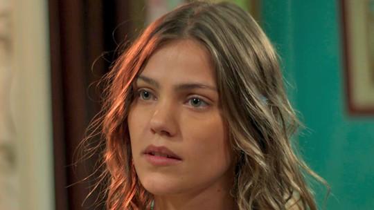 Alina sente ciúmes da relação de Vanda com Uodson