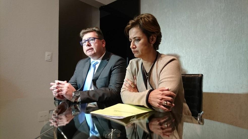Jaqueline Coutinho disse que foi humilhada pelo prefeito — Foto: Natália de Oliveira/G1