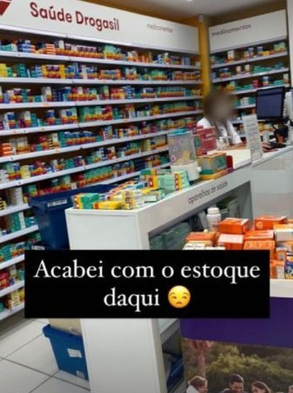 Suspeitos de usar receitas falsas para compra de medicamentos postavam esquema em rede social, no DF — Foto: PCDF/Divulgação