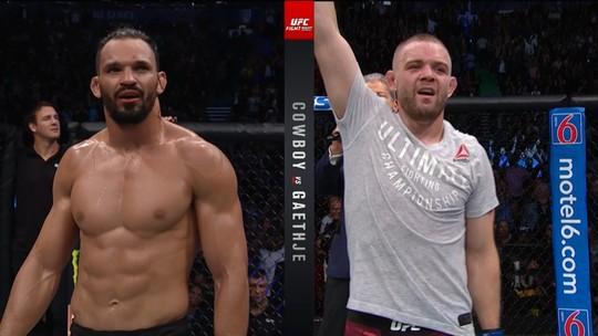 Vídeos: Paraense Voador decepciona, Sakai brilha e Gaethje atropela no UFC Vancouver
