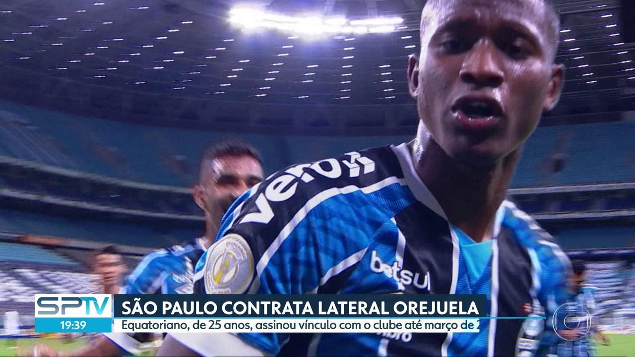 São Paulo contrata lateral Orejuela