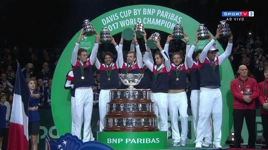 Com show da torcida, França bate Bélgica e conquista Copa Davis pela 10ª vez