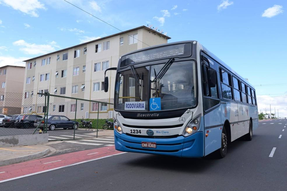 Transporte urbano de Rio Claro irá ter horário especial para economizar combustível (Foto: Prefeitura de Rio Claro/Divulgação)