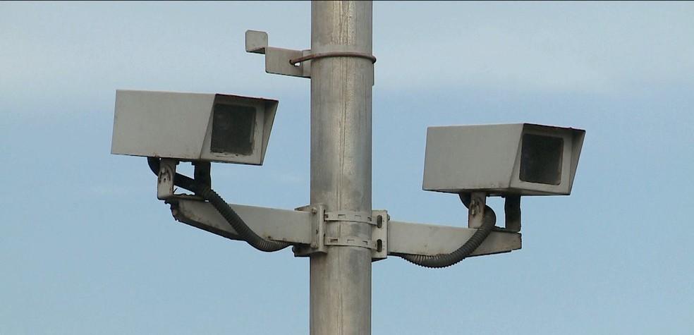 Radares registram motoristas que cometem infrações por excesso de velocidade — Foto: Reprodução/TV Mirante