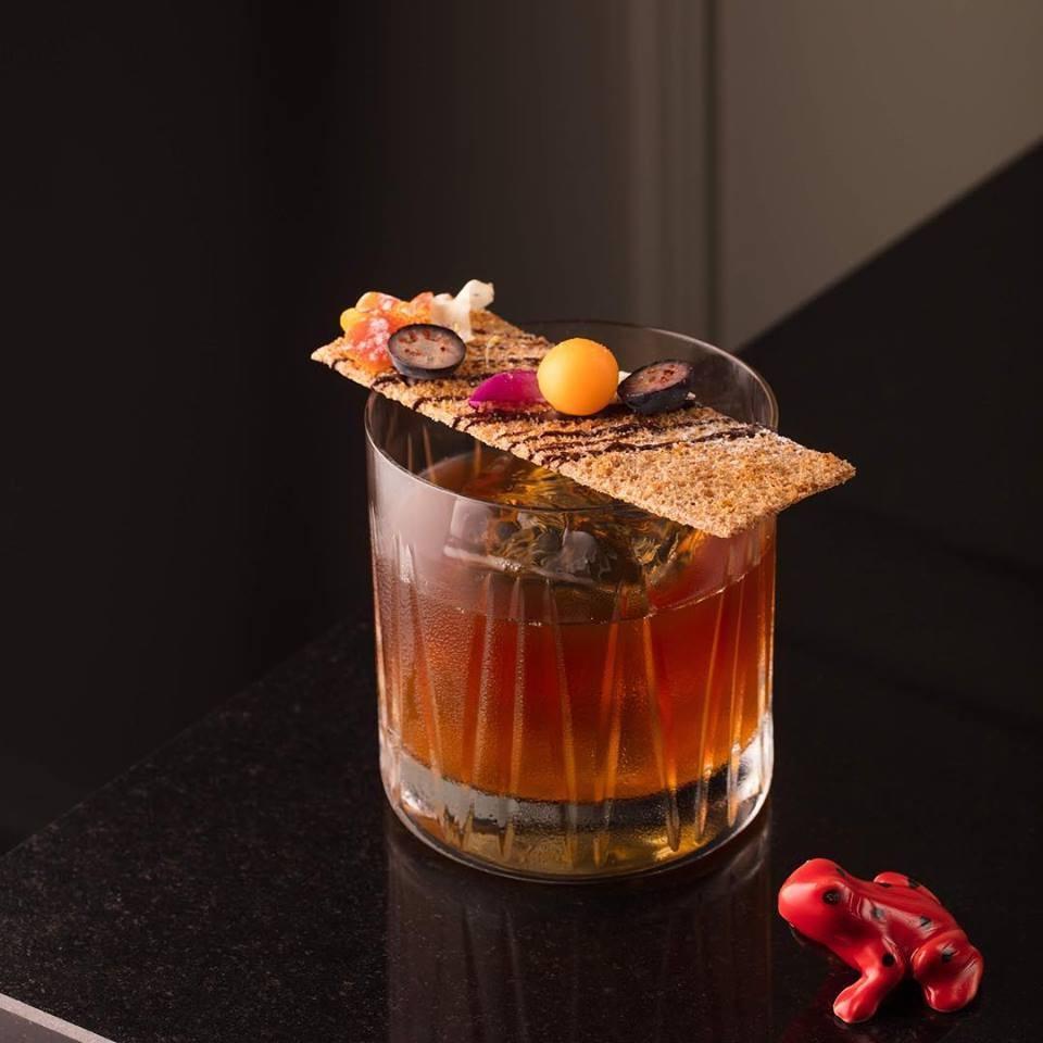 Drinque do bar secreto Frog (Foto: Larissa Januário)