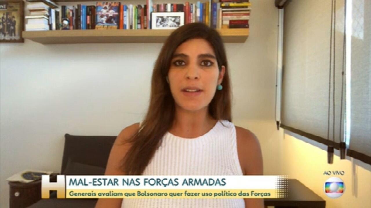 Para generais, Bolsonaro busca uso político das Forças, perfil como de Villas Bôas no Exército e 'recados de apoio' nas redes sociais