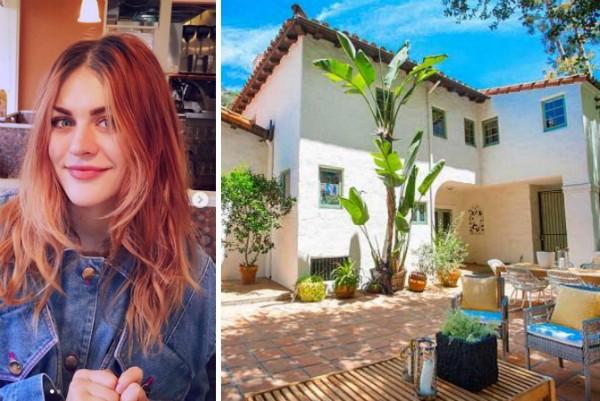 A casa de 10 milhões reais colocada no mercado por Frances Bean Cobain, filha de Kurt Cobain (Foto: Instagram/Divulgação)