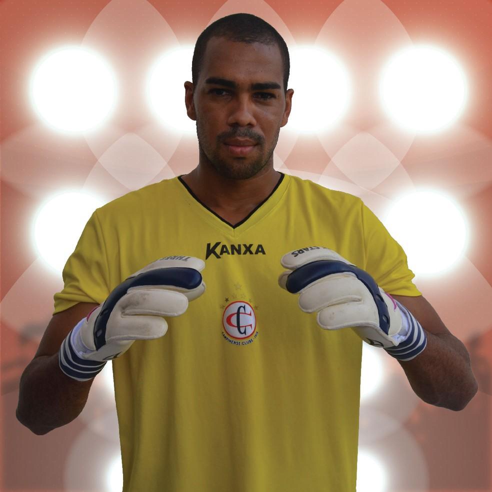 Dida, ex-goleiro do Campinense, é um dos novos reforços do Parnahyba para 2018 (Foto: Divulgação / Campinense)