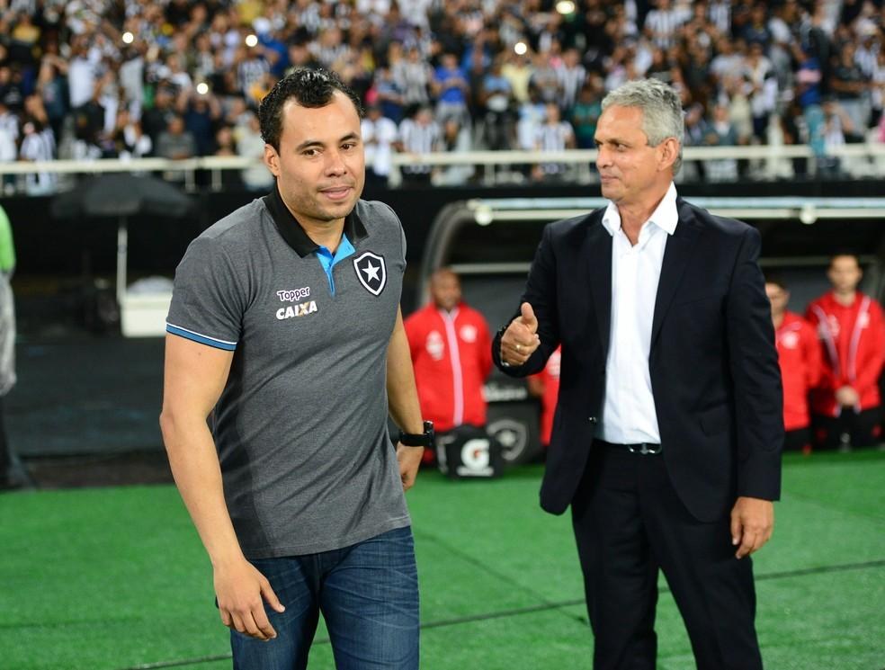 Jair Ventura está invicto em três jogos contra Rueda (Foto: André Durão)