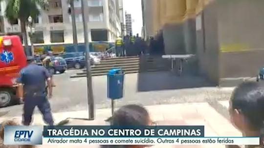AO VIVO: últimas informações sobre ataque em  Campinas