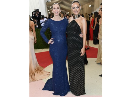 Emily Blunt e Olivia Wilde (Getty Images)