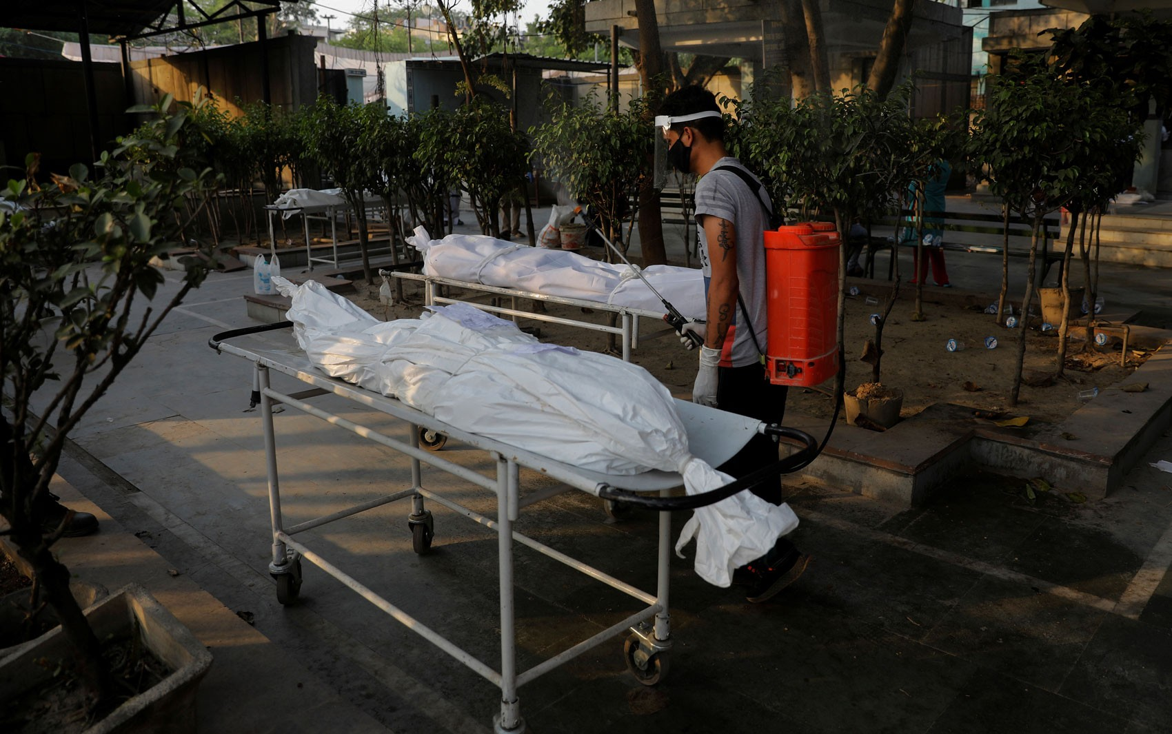 Dezenas de corpos de possíveis vítimas da Covid-19 aparecem às margens do Ganges, na Índia