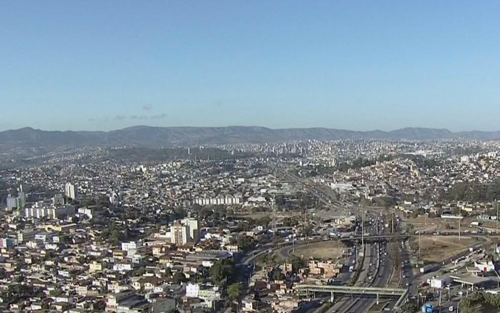 Belo Horizonte tem alerta de baixa umidade durante esta semana — Foto: Reprodução/TV Globo