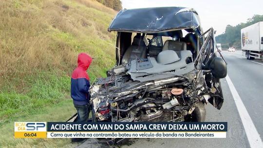 Vítima de acidente com van do Sampa Crew recebe alta em Jundiaí