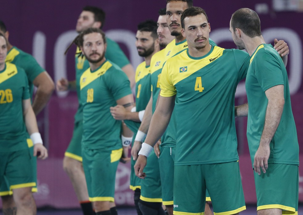 Brasil, Handebol, Jogos Pan-Americanos Lima 2019 — Foto: Flávio Florido / Lima 2019