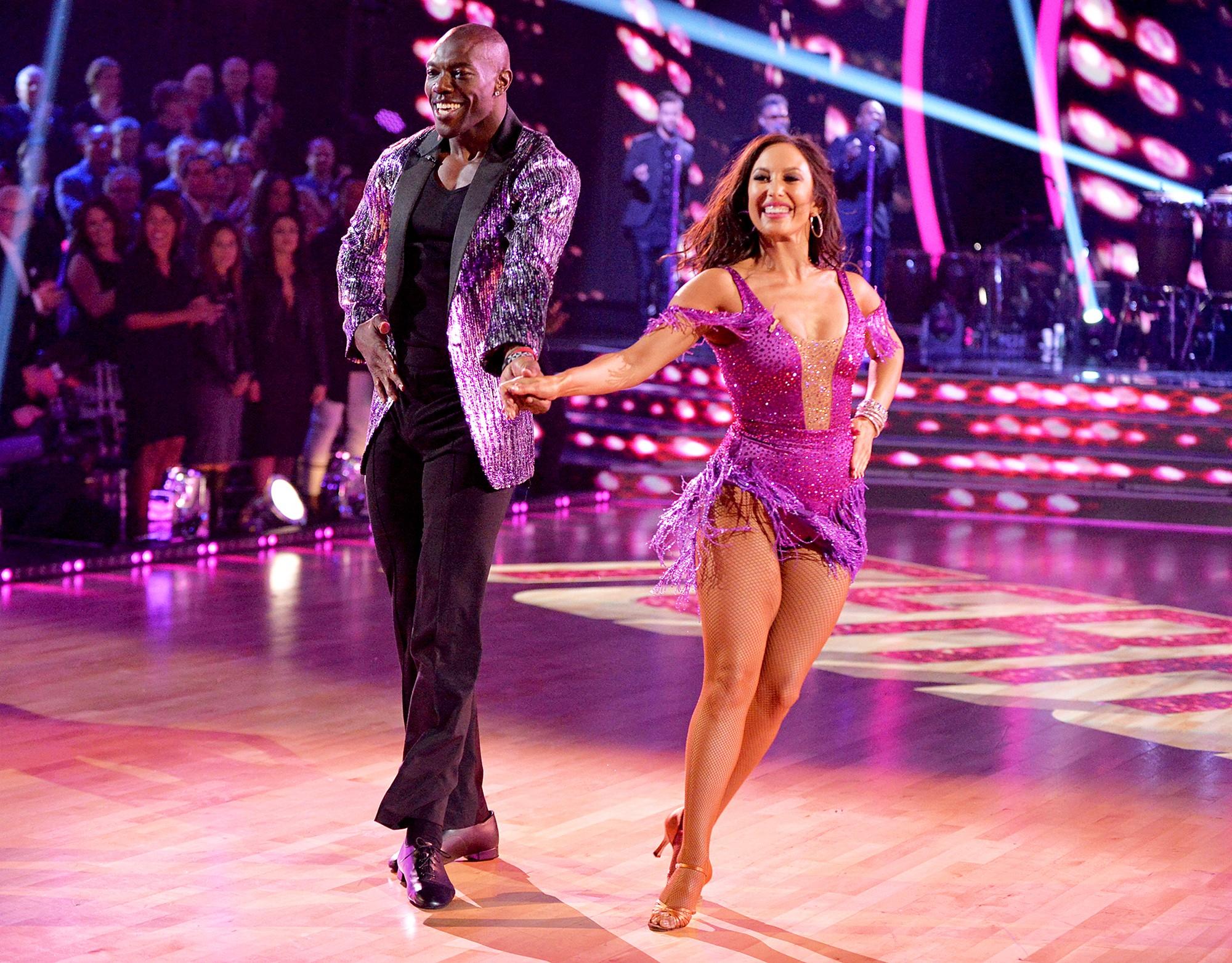 Terrell Owens e Cheryl Burke em Dancing With The Stars (Foto: Divulgação)