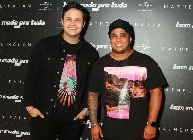Matheus e Kauan (Foto: Marcello Sá Barreto/Brazil News)