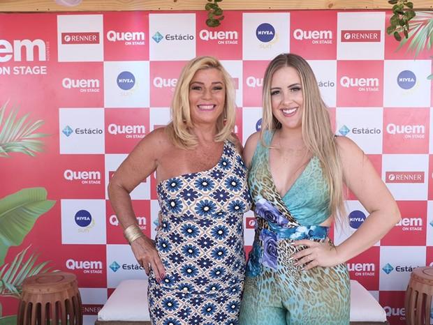 Cida Moraes e Patrícia Leitte (Foto: Renato Wrobel/QUEM)