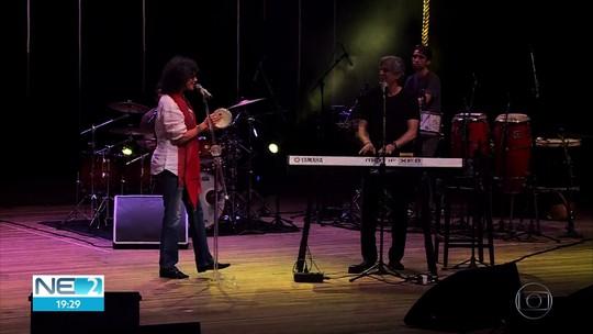 Simone e Ivan Lins se apresentam em Olinda