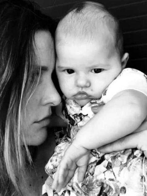 Fernanda Lima e a filha Maria (Foto: Reprodução/ Instagram)