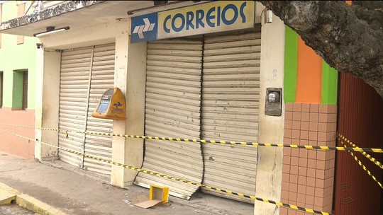 Posto da PM e 4 agências dos Correios são alvos de assaltantes em 24 horas, na Paraíba