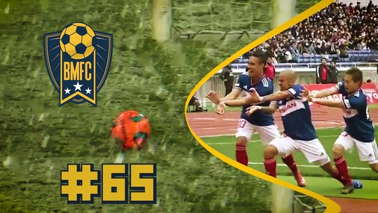 """BMFC #65: Kamehameha no Japão, neve de """"zagueiro"""" e gol de Puskás na Irlanda"""