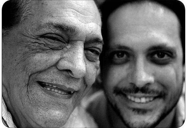 Lucio Mauro e Lucio Mauro Filho (Foto: Reprodução / Instagram)