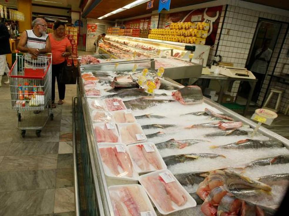 Supermercados em Belém — Foto: Paulo Akira/ O Liberal