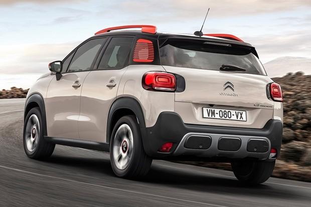 Citroën C3 Aircross 2021 Traseira Movimento (Foto: Divulgação)