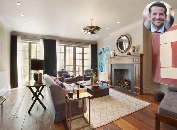 Bradley Cooper pagou 13,5 milhões de dólares na casa de cinco andares (Foto: Scott Parks Realty/ Reprodução)