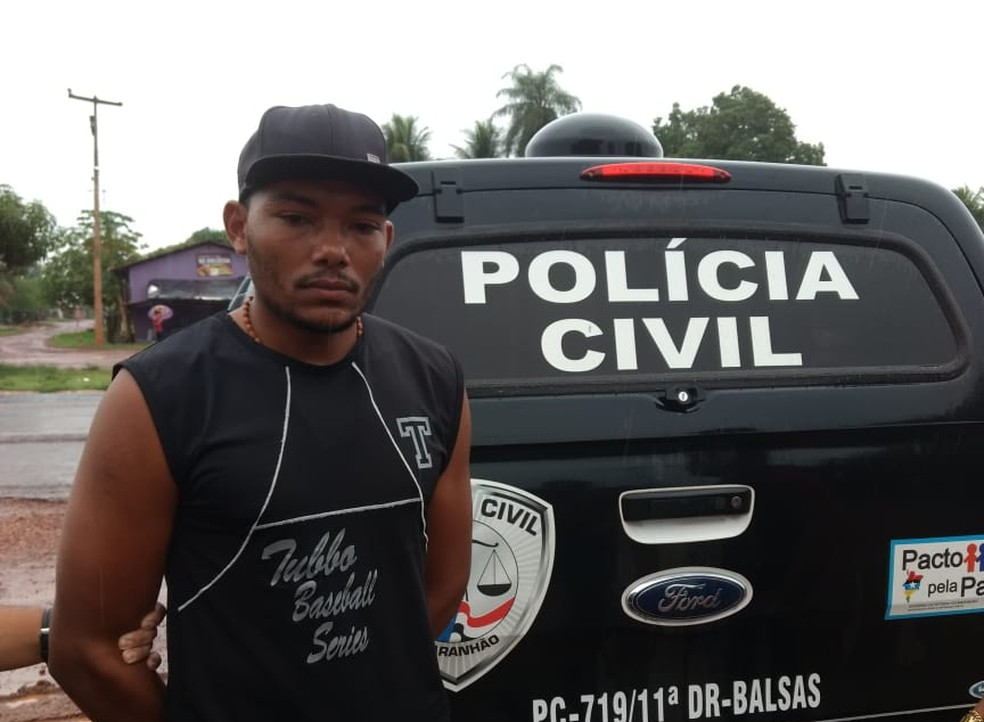 Alypio Noleto da Silva, de 24 anos, é o principal suspeito de assassinar idosa de 106 anos no Maranhão — Foto: Divulgação/Polícia Civil