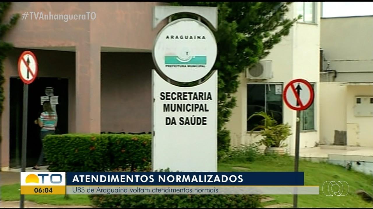Unidades básicas de saúde de Araguaína voltam com os atendimentos normais