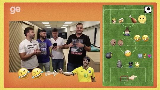 Você consegue acertar jogadores e times só com emojis? Confira o desafio do Bola Quadrada