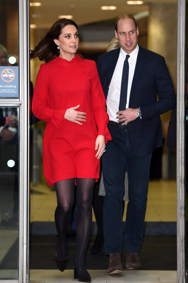 Kate Middleton e príncipe William (Foto: Eddie Mulholland - WPA Pool/Getty Images)