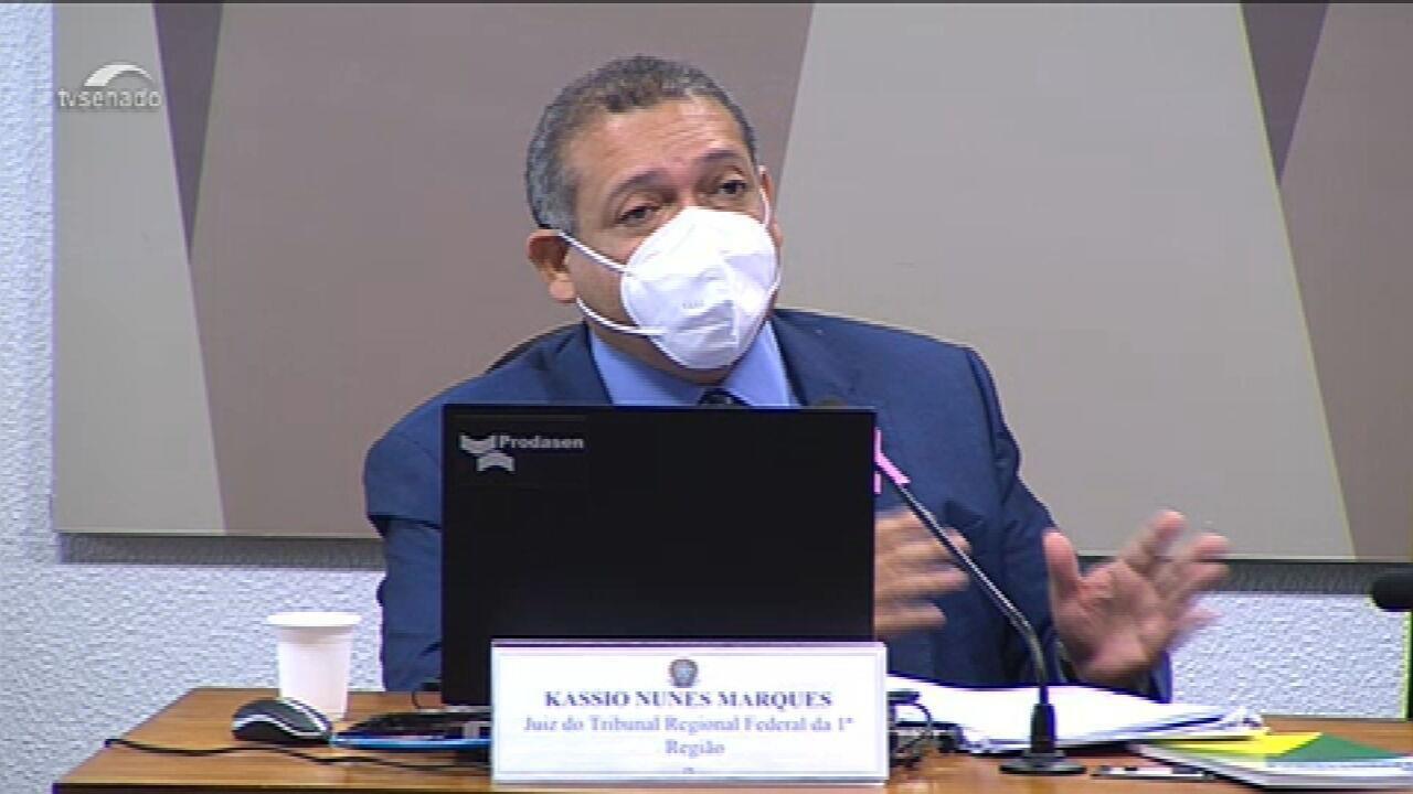 Kassio Nunes Marques é aprovado pelo Plenário para ser o novo ministro do STF