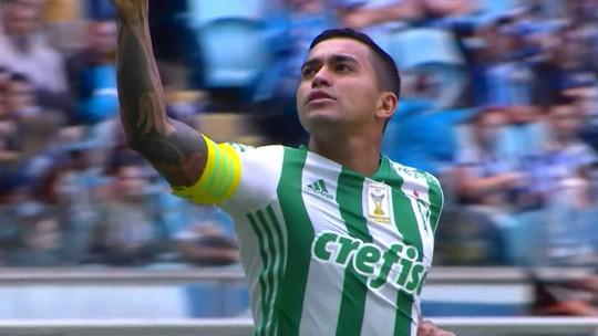 Dudu acumula funções na ausência de Willian e volta a ser decisivo no Palmeiras