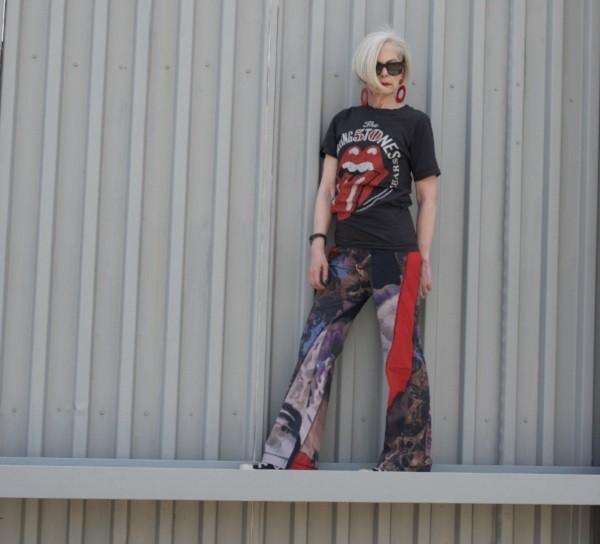 Lyn stater, professora alçada a ícone de moda aos 63 anos