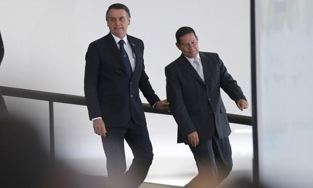 Bolsonaro e Mourão
