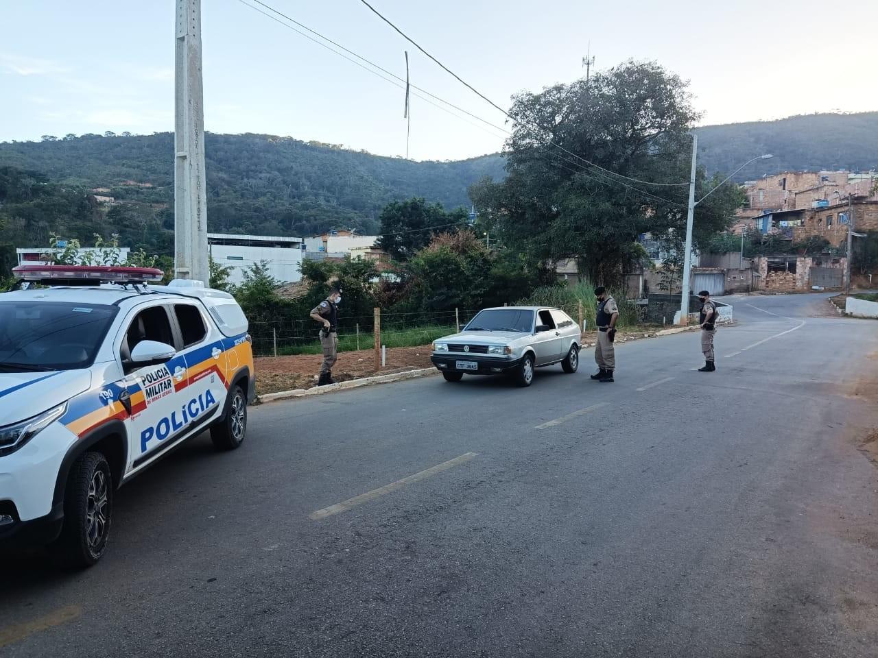 Quatro pessoas são detidas em Pitangui durante a Operação 'Bem Maior'