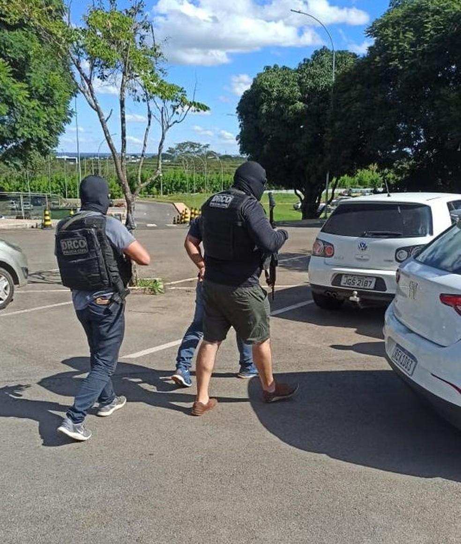 Apontado pela Polícia como envolvido no 'ataque a Cametá' é preso em Goiás. — Foto: Reprodução / Ascom PC-PA