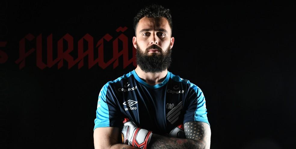 Jandrei é a quarta contratação do Athletico em 2020 — Foto: Miguel Locatelli/Site oficial Athletico