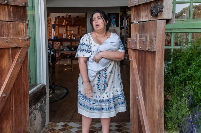 Mariana Xavier como Marcelina em 'Minha mãe é uma peça' 3 (Foto:  Daniel Chiacos)