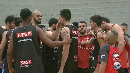 """No Pedrocão, Franca busca """"espírito de playoff"""" para igualar série contra Bauru"""